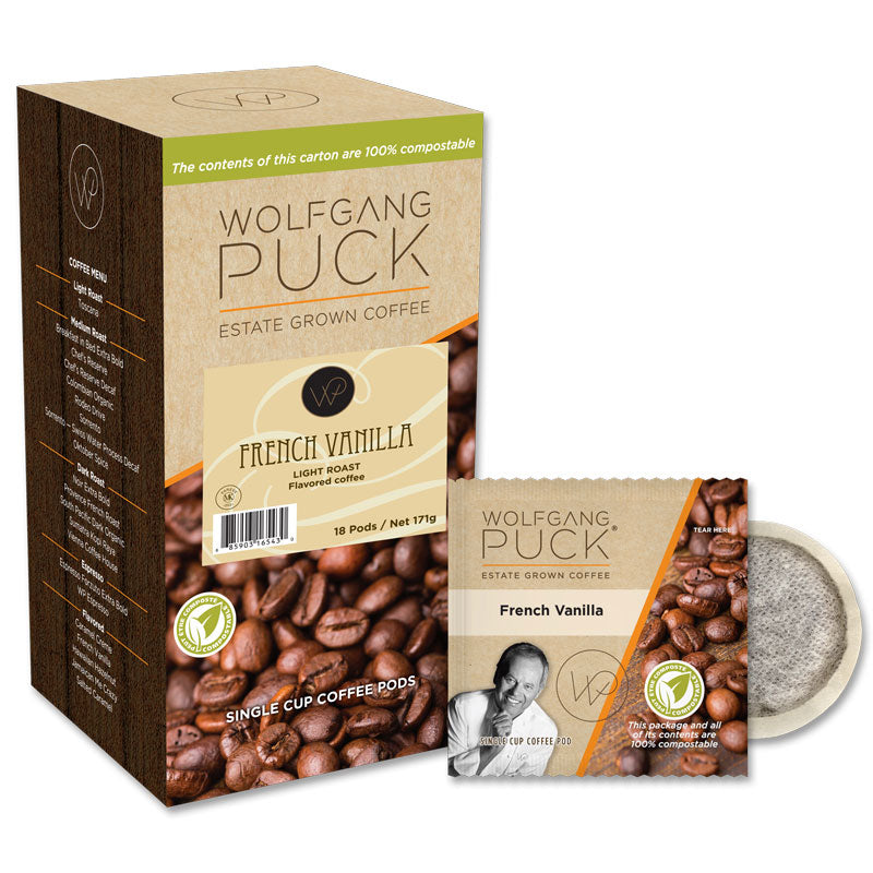 French Vanilla Coffee Pods