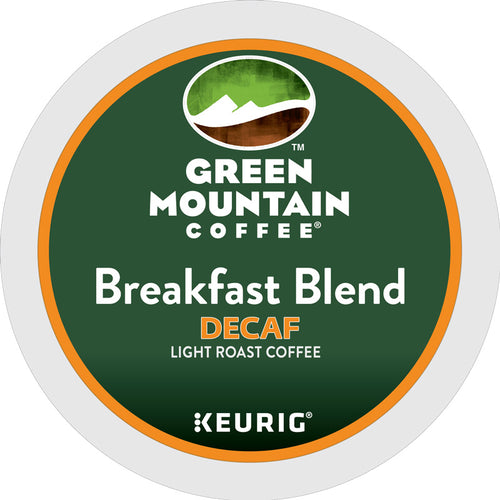 Breakfast Blend Decaf, Keurig K-Cup | Green Mountain