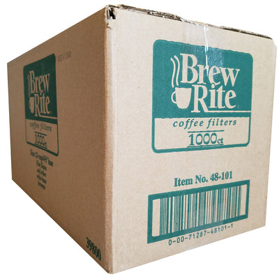Brew Rite® 12 Cup Coffee Filters, 1,000/Case | Rockline® Industries