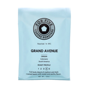 For Five Grand Ave Roast Whole Bean Coffee - 5lb bag