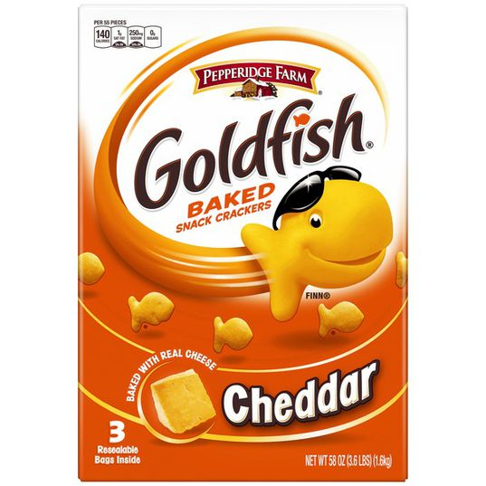 Pepperidge Farms Goldfish Baked Snack Crackers 58oz