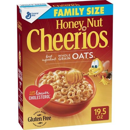Honey Nut Cheerios - 19.5oz Box