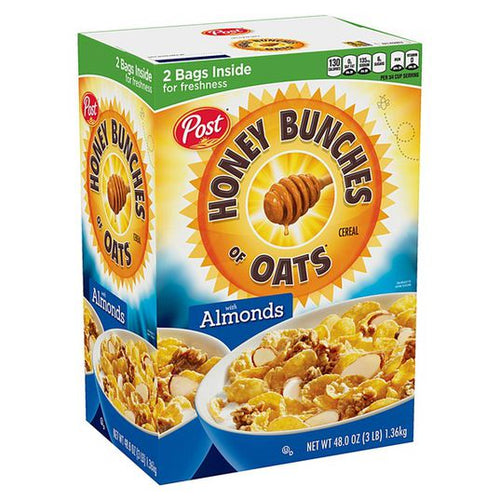 Honey Bunches Of Oats w/ Almonds 48oz