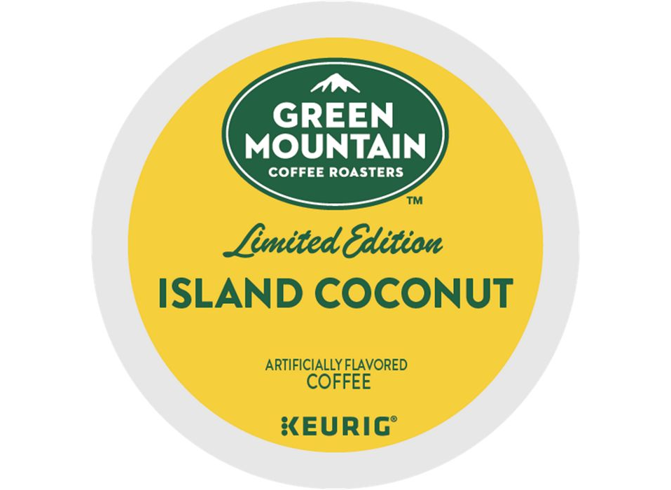 Island Coconut Coffee K-Cup® Pods