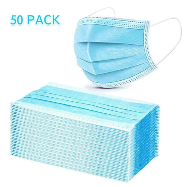 Disposable Face Masks 50ct