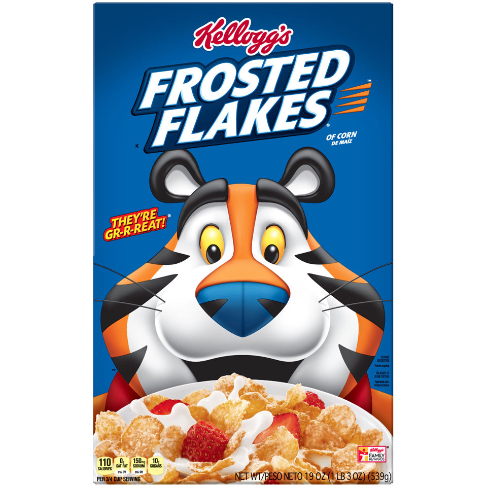 Kellogg's Frosted Flakes 23oz box