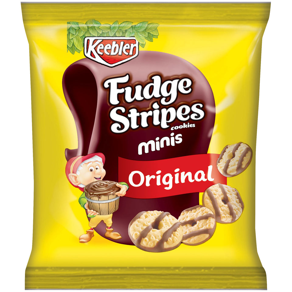 Keebler Fudge Stripe Cookies 2oz Bag
