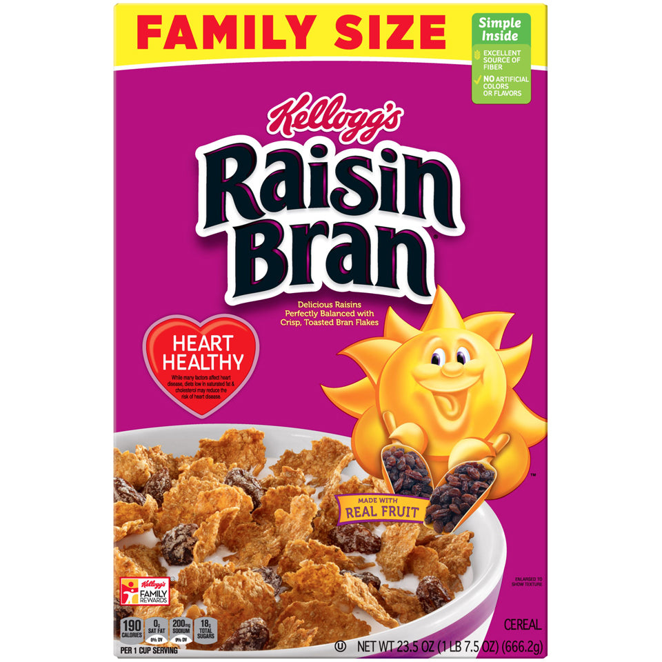 Kellogg's Raisin Bran 23.5oz box