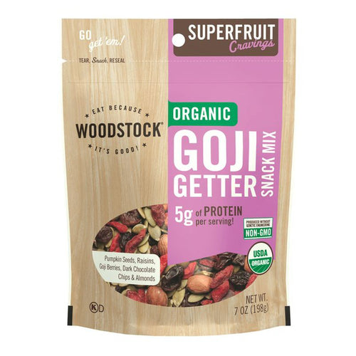 Woodstock Organic Goji Getter Snack Mix (7 oz)