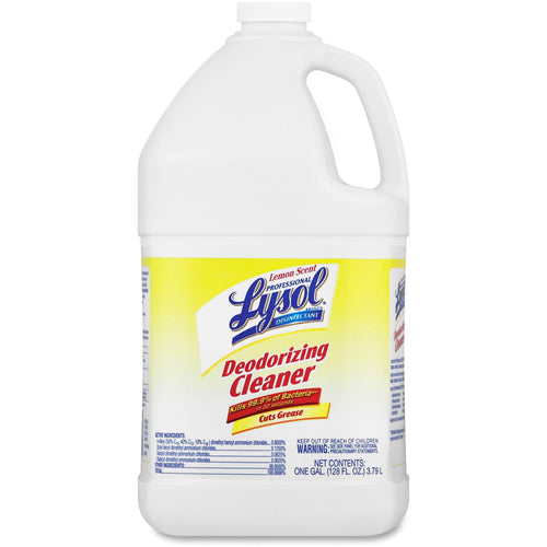 Lysol Disinfectant Deodorizing Cleaner 128oz