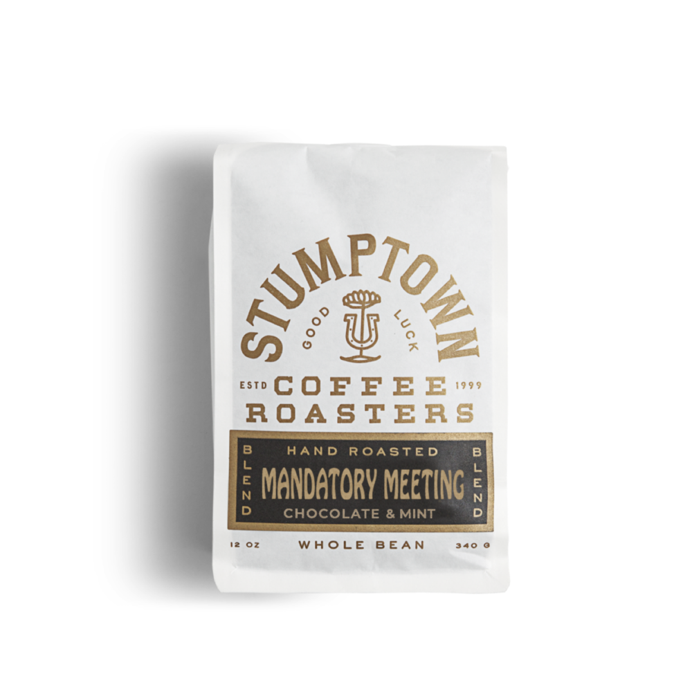 Stumptown Mandatory Meeting Whole Bean Coffee - 5lb bag