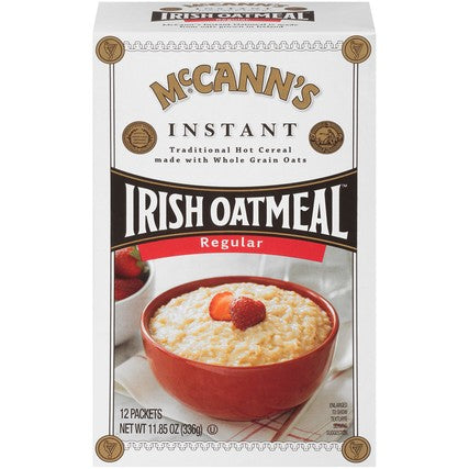 Mcanns Instant Oatmeal Packets 12/Box