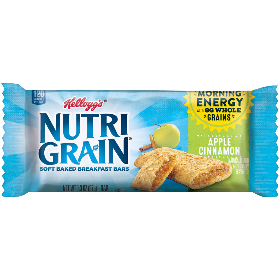 Kellogg's Nutri-Grain Apple 8ct Box