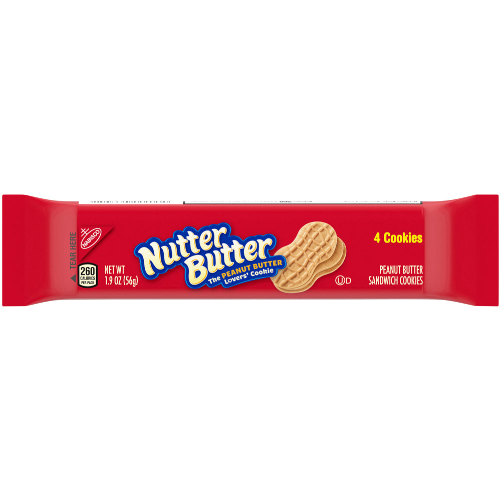 Nabisco Nutter Butter Cookies single serve