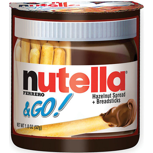 Nutella & Go Spread & Bread Sticks