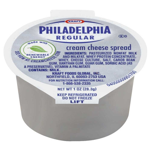 Philadelphia Original Cream Cheese Cups - 100/1oz Cups