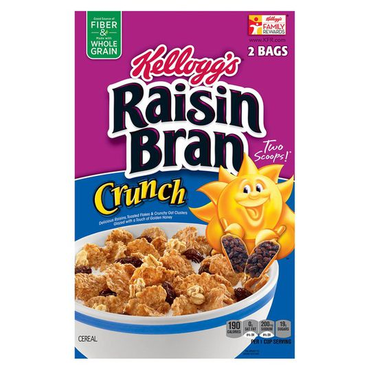 Raisin Bran Crunch Bulk 56oz
