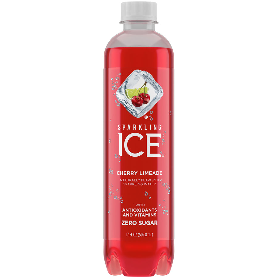 Sparkling Ice Cherry Lime 12-17.9oz bottles per case