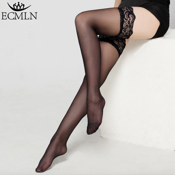 81e5835e39a 6 Colors Sexy Stylist Fashion Ladies Womens Lace Top Stay Up Thigh High  Stockings Nightclubs Pantyhose
