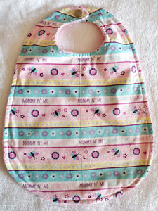 Mommy and me Big bib