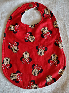 Minnie mouse Big bib