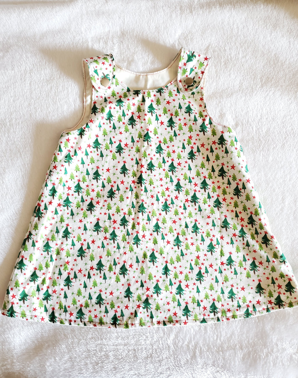 Christmas tree dress 18-24M