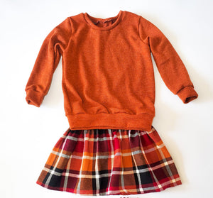 Plaid skirt 3T