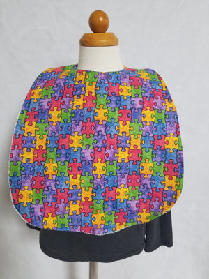 "Puzzle Autism awarness ""BIG bib"""