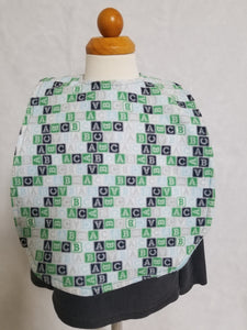 "Blue ABC ""BIB bib"""