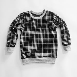 Plaid sweatshirt size 4T
