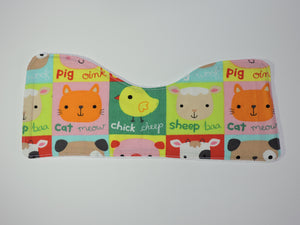 Animal burp cloth