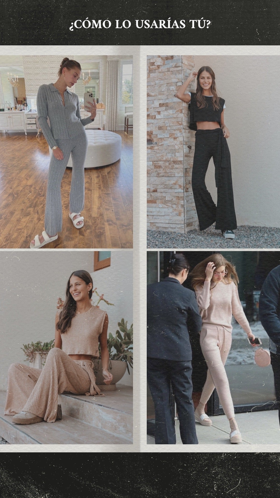 ideas outfit lanillas