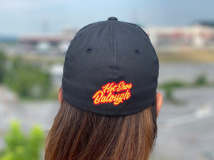 112 Embroidered FlexFit & Snapback Black Hat