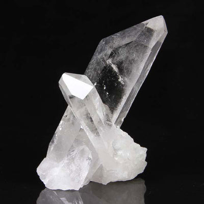 Crossing Quartz Crystal Specimen