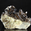 smoky quartz crystal specimen raw