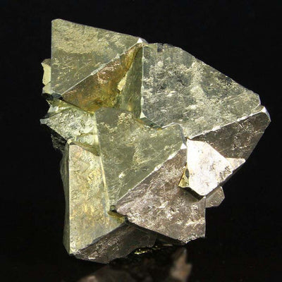 Natural Golden Pyrite Crystals
