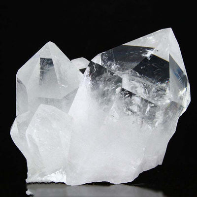 Clean Clear Raw Quartz Crystal Specimen Colorless