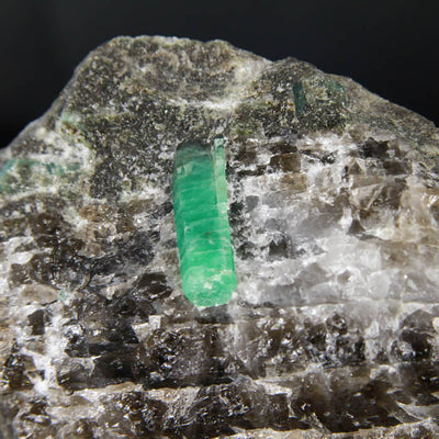 Beautiful Emerald Crystals on Matrix