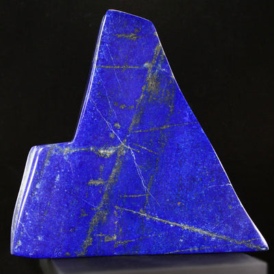 Raw Lapis Lazuli and Pyrite Crystal