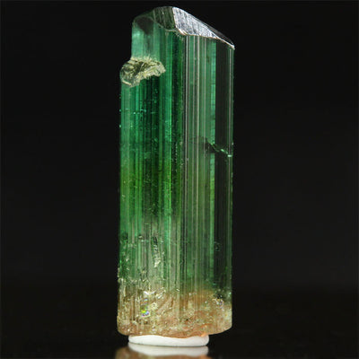 Brazilian Raw Green Tourmaline Crystal Mineral Specimen
