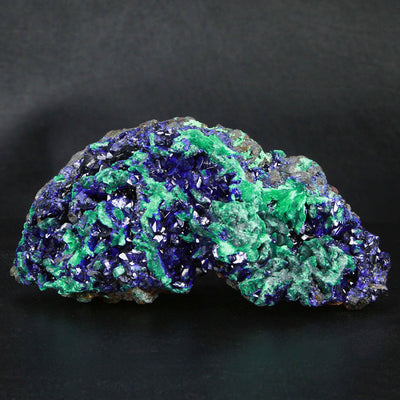 Azurite Malachite Mineral Specimen from Sepon Mine Laos