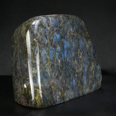 Polished Blue Labradorite Specimen