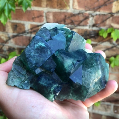 UV reactive fluorite from Madagascar