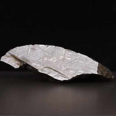 Sliced and Etched Muonionalusta Meteorite