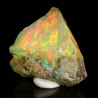 Orange Ethiopian Opal Rough Crystal
