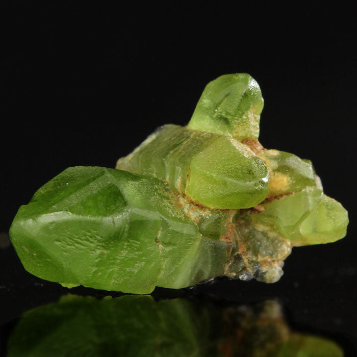 Peridot Raw Crystal Cluster green pakistan natural
