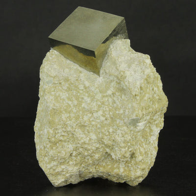 Pyrite Cube on Matrix from Spain