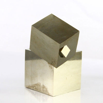 Raw Natural Pyrite Crystal Specimen