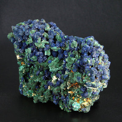 Unique Azurite & Malachite Specimen