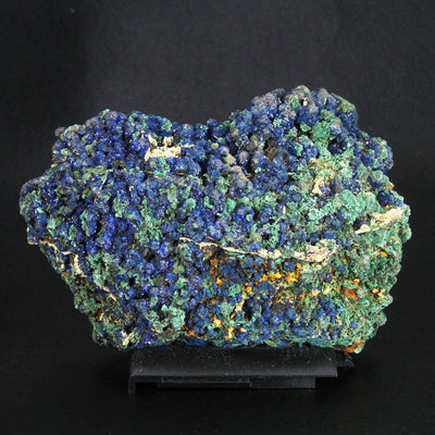 Rare Azurite on Malachite Laos